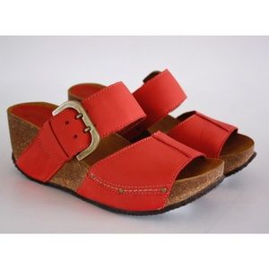 Sergio Tomani Alda Sandal in Red